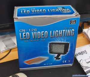 Nanguang Photographic Equipment Co, Ltd CN-126 LED Video Lighting