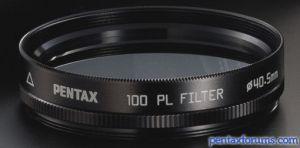 Pentax 100 PL Filter