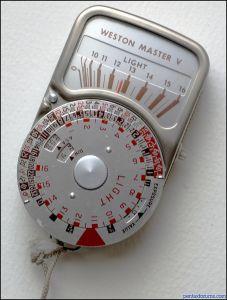Sangamo Weston Light Meter Weston Master V