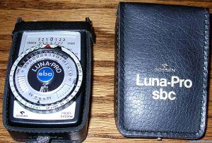 Gossen Luna-Pro sbc