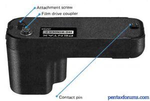 PENTAX 110 Winder II