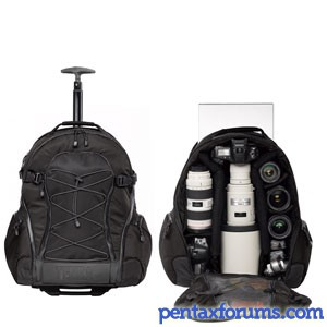 Tenba Shootout: Large Rolling Backpack reviews - Pentax Camera ...