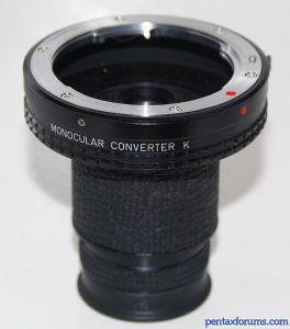 Pentax Monocular Converter K