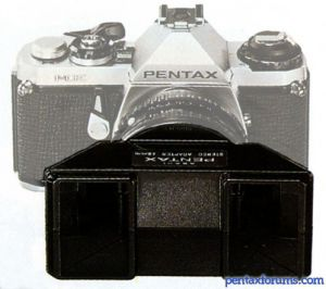 PENTAX Stereo Adapter 49mm and 52mm