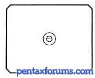 Pentax 67II BB-81 Focusing Screen