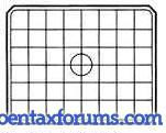 Pentax 67II BG-60 Focusing Screen