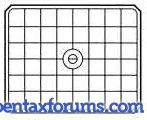 Pentax 67II BJ-61 Focusing Screen