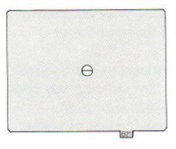 Pentax 645 UB-21 Split Image Matte focusing screen