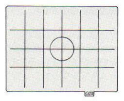 Pentax 645 UG-20 Section-line Matte focusing screen