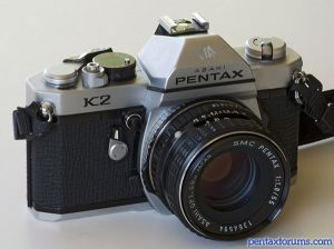 Amazon. Com: pentax mg slr manual focus camera with a pentax 50mm.