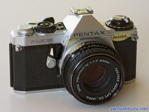Auto and manual 35mm film slr camera body only accepts pentax k.