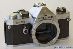 Original Pentax MX SLR