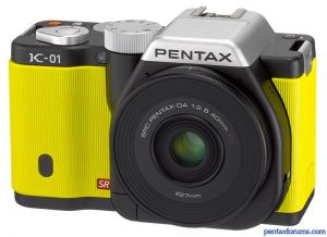 Farewell, Pentax K-01: Now Discontinued