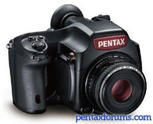 Pentax 645D IR Announced