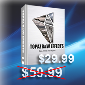 Topaz B&W Effects  -  New Plugin