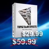 Topaz B&W Effects  -  New Plugin