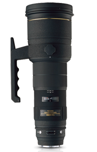 Sigma 500mm F4.5 Available