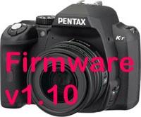 Pentax K-r Firmware 1.10