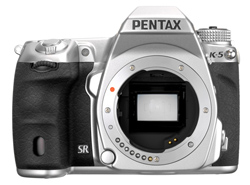 Limited Silver Pentax K-5 and Lenses Announced