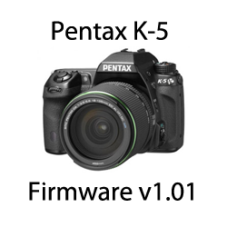 Pentax K-5 Firmware v1.01 Update Released
