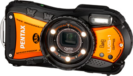 Optio WG-1 Orange