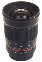 New 24mm F1.4 Samyang lens for Pentax