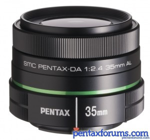 Pentax DA 35mm F2.4 Lens Available