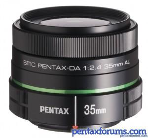 Pentax DA 35mm F2.4 Lens Available