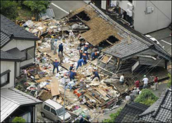 Destructive Japan Earthquake