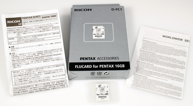 FluCard Box Contents (click to enlarge)