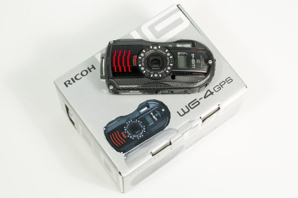 Ricoh WG-4 with Box