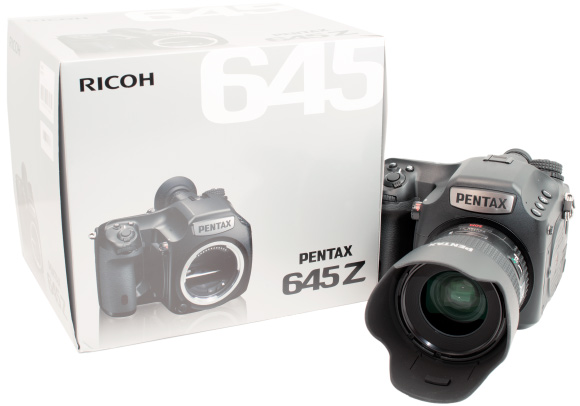Pentax 645Z With DFA 55mm Lens