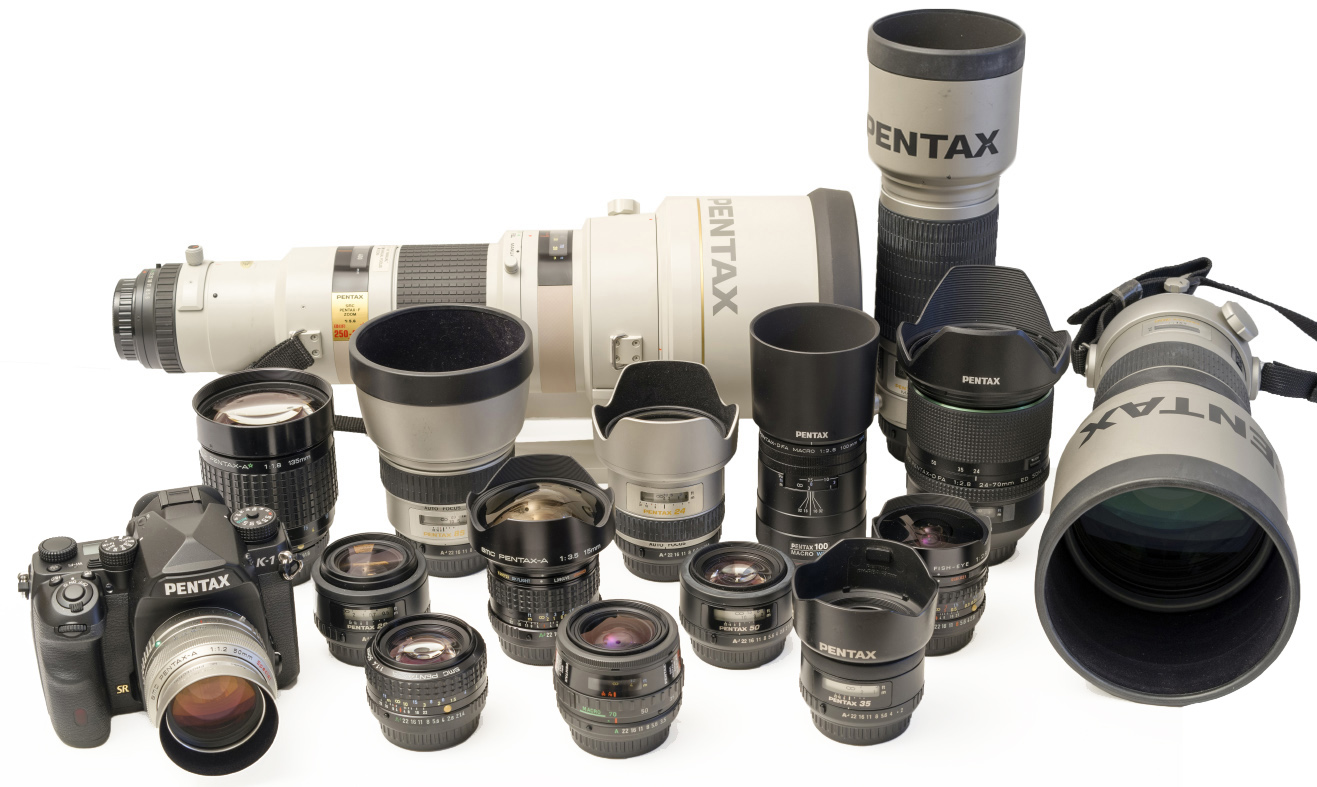 Pentax K 1 Review Available Lenses Reviews Current With A Selection Of Legacy Autofocus And Manual Focus