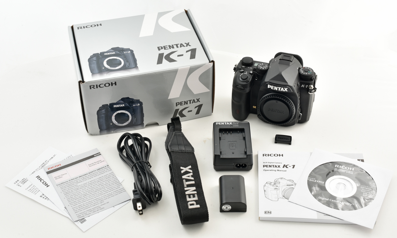 Pentax K-1 Review - What\'s in the Box | PentaxForums.com Reviews