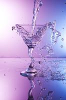 Martini splash down