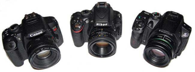 Canon T4i, Nikon D5100, Pentax K-30