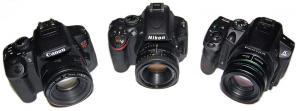 Canon T4i vs Nikon D5100 vs Pentax K-30
