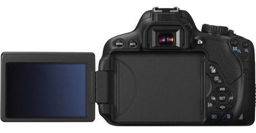 Canon T4i Screen