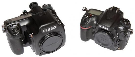 Nikon D800E vs. Pentax 645D
