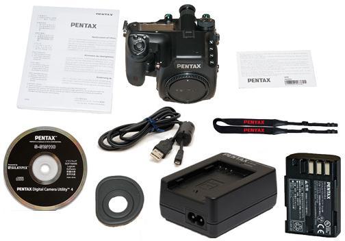 Pentax 645D Box Contents