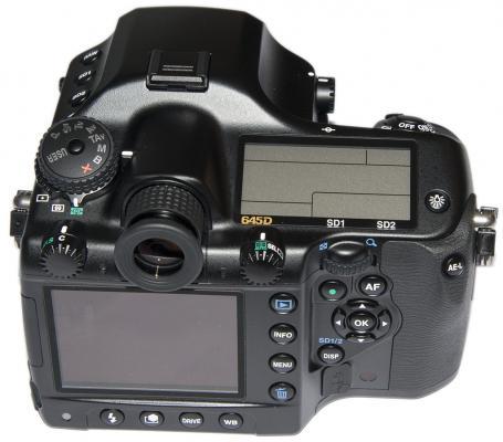 Pentax 645D LCD