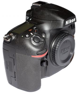 Nikon D800E Right Side