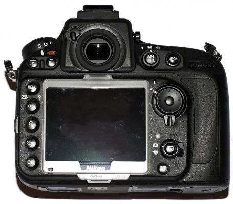 Nikon D800E LCD