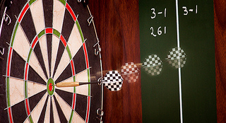 Darts - LV5 in use