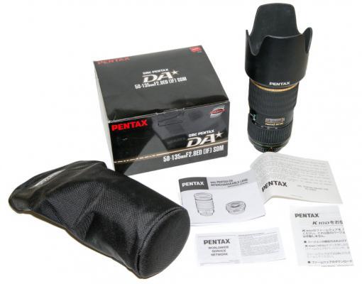 DA* 50-135mm box contents