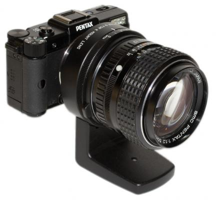 Pentax Q with K 50mm F1.4 Adapter