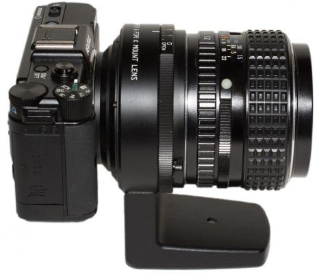 Pentax K to Q mount adapter