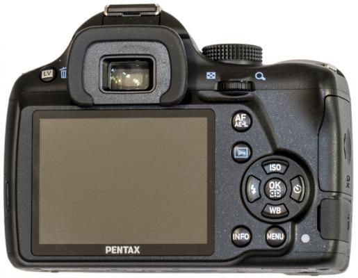 Pentax K-50 Back View