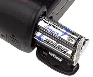 Pentax K-50 AA Battery Holder