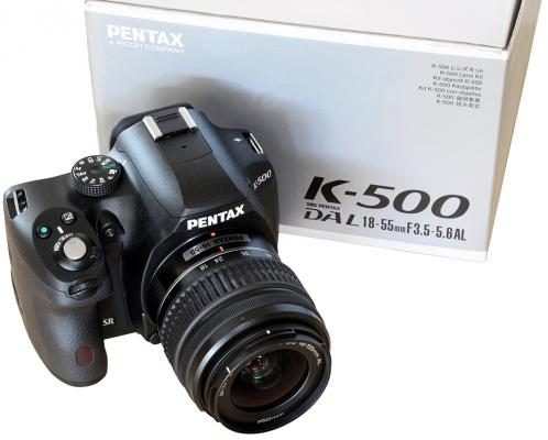 Pentax K-500 In-Depth Review Posted